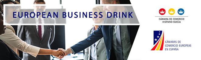 2019 European Business Drink Banner