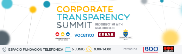 banner corporate Transparency
