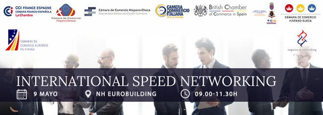 International Speed Networking 2019, 9 Mayo