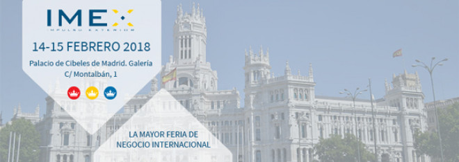 IMEX Madrid 2018 - Internationella exportmässan i Madrid
