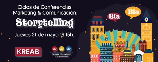 Ciclos de Conferencias Marketing & Comunicación: Storytelling